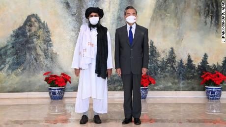Chinese officials and Taliban meet in Tianjin as US exits Afghanistan