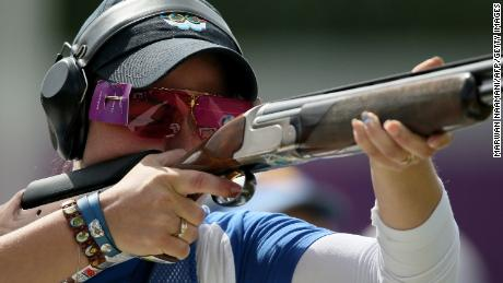 Perilli also competed in London 2012 Olympic Games, where she finished fourth in the women's trap.
