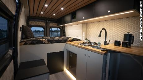 Cascade Custom Vans, located in Bend, Oregon, has struggled with shortages of materials it needs for its van conversions.