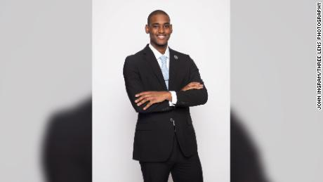 Christopher Ingram is a rising senior at Saint Augustine's University. He now knows he can pursue graduate school without having to worry about his undergrad debt.