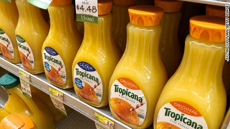 PepsiCo is selling Tropicana as customers continue to ditch juice