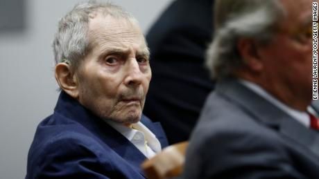 LOS ANGELES, CA - MARCH 04: New York real estate scion Robert Durst appears in court for during opening statements in his murder trial on March 4, 2020 in Los Angeles, California. The 76-year-old defendant, charged with murdering a friend in December 2000, has been behind bars since March 14, 2015. (Photo by Etienne Laurent -Pool/Getty Images)