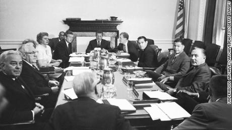 The Kerner Commission in session, Washington DC, 1967