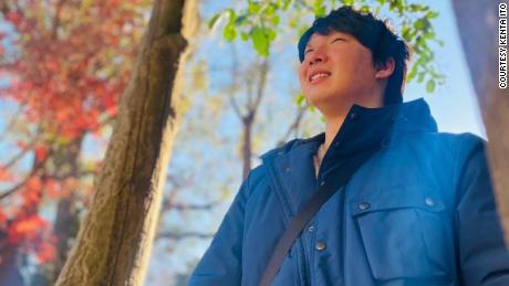 Kenta Ito, 25, describes himself a minimalist and identifies with the satori sedai. He earns a decent wage at a consulting firm in Tokyo, but doesn't care about owning things like a house or a car.