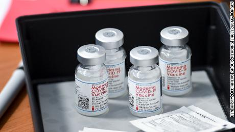 Moderna's Covid-19 vaccine shows 93% efficacy through 6 months, as company expects to finish application for approval this month