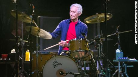 Mick Jagger leads Rolling Stones' tribute to drummer Charlie Watts
