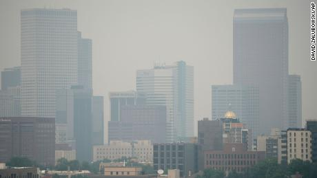 Denver experienced the worst air quality of any major city in the world due to smoke from western wildfires