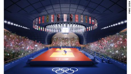 Champs de Mars will host volleyball.