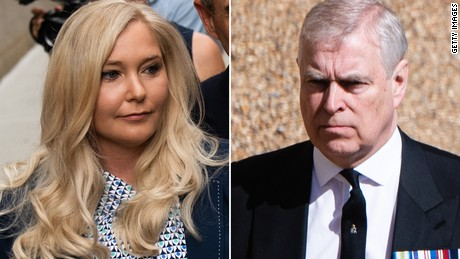 Virginia Giuffre files lawsuit against Prince Andrew alleging sexual abuse