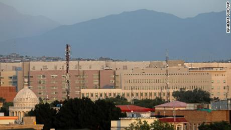 Drawdown of US embassy in Kabul is under discussion, sources say, as Taliban makes rapid gains in Afghanistan
