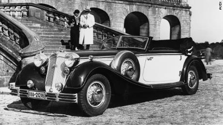 The Audi Skysphere concept was inspired by the Horch 853.