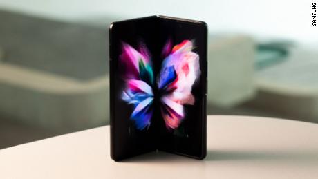 Samsung's latest Galaxy Fold model features an under-screen camera.