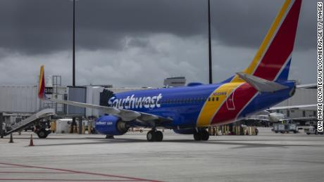 Southwest Airlines warns Delta variant is hurting its business