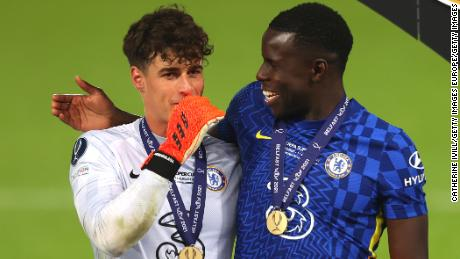 Kepa Arrizabalaga's penalty save helps Chelsea win UEFA Super Cup against Villarreal