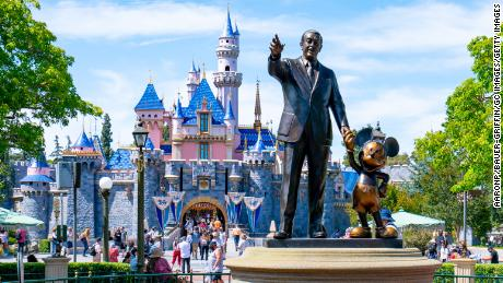 Disney earnings exceed expectations as parks reopen and Disney+ grows