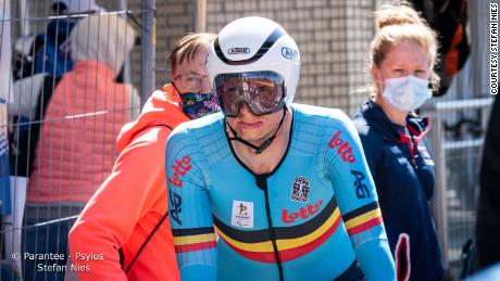 After the accident, Schelfhout says doctors told him he would have to forget his cycling dreams.