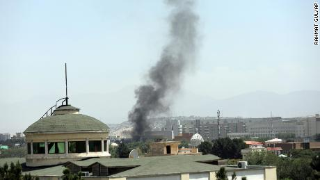 US completes evacuation of embassy in Afghanistan as flag comes down at diplomatic compound