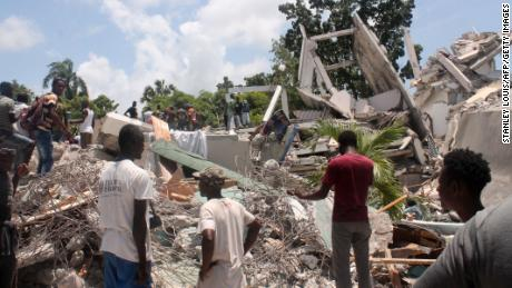 Death toll from 7.2-magnitude earthquake in Haiti rises to over 1,200 people