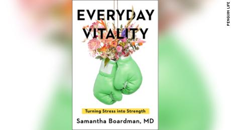 """Dr. Samantha Boardman's newly released book is """"Everyday Vitality: Turning Stress in to Strength."""""""