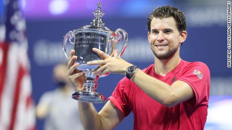Thiem won the US Open in 2020, after defeating Alexander Zverev in a nail-biting five setter to earn his first grand slam.