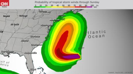 Tropical-force winds could impact New England through the weekend.