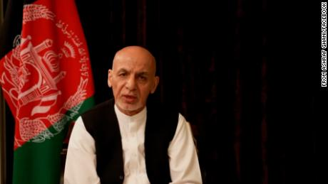 The former senior official said former Afghan President Ashraf Ghani left the country with just the clothes on his back.