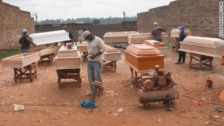 Coffin builders in Nyeri