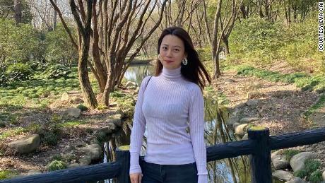 Eva Cai froze her eggs in Hong Kong.
