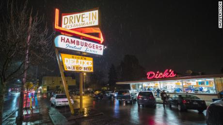 Supply chain challenges have impacted Dick's Drive-In in Seattle.