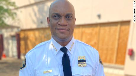 Portland, Oregon, Police Chief Chuck Lovell started his post not long after George Floyd's death.