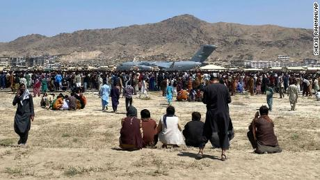 Kabul's airport is the epicenter of a desperate and deadly scramble to escape the Taliban