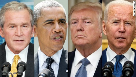 Bush, Obama, Trump, Biden: How four presidents created today's Afghanistan mess