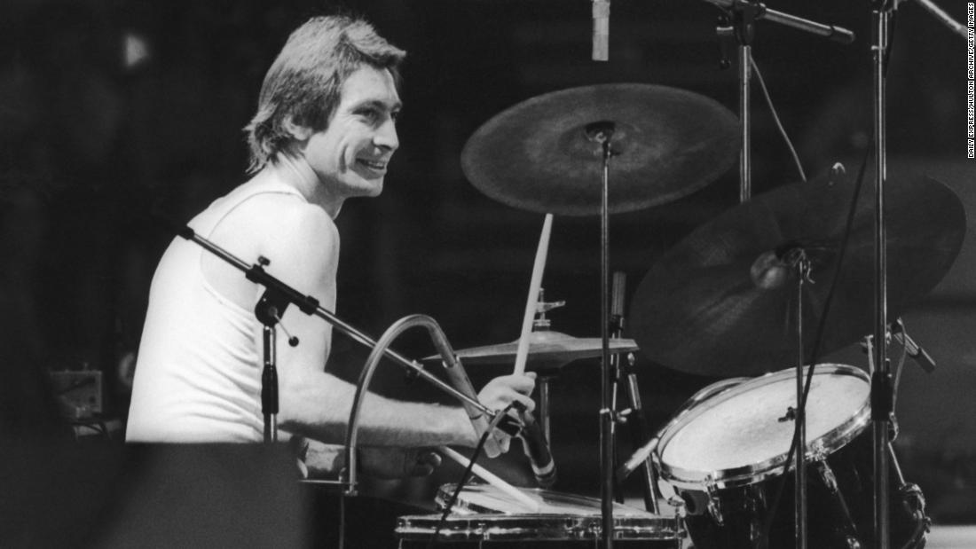 """<a href=""""https://www.cnn.com/2021/08/24/entertainment/charlie-watts-dead/index.html"""" target=""""_blank"""">Charlie Watts,</a> the unassuming son of a truck driver who gained global fame as the drummer for the Rolling Stones, died August 24 at the age of 80."""
