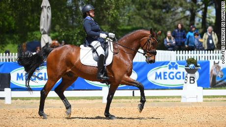 De Lavalette spent months learning how to ride again, making her first appearance for the US Para Dressage Team in January 2020.