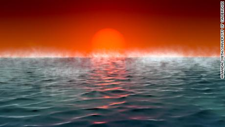 Hycean planets are hot, ocean-covered planets with hydrogen-rich atmospheres.