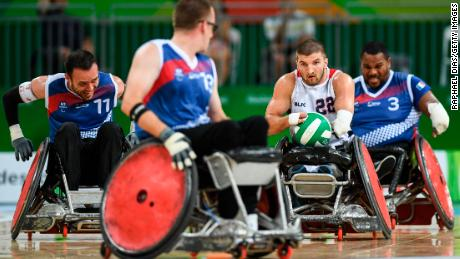 Puderbaugh represented Team USA's wheelchair rugby team at the Rio Paralympics, eventually clinching silver at the final.