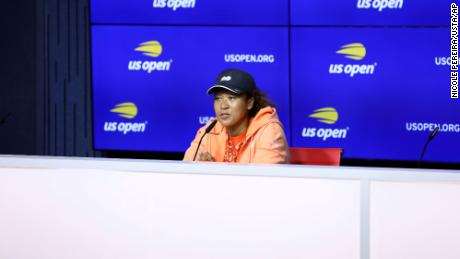 """Naomi Osaka made the decision to withdraw from Roland Garros in May, citing mental health reasons. She said she """"didn't know how big of a deal it would become,"""" during a press conference on Friday."""