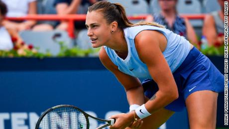 """Aryna Sabalenka said back in March that she """"doesn't really trust"""" the vaccine."""