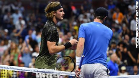 Andy Murray says he 'lost respect' for Stefanos Tsitsipas after US Open defeat