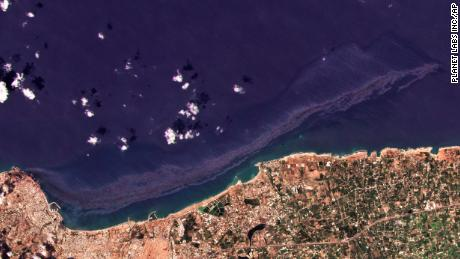 Syrian oil spill spreads across the Mediterranean and could reach Cyprus on Wednesday