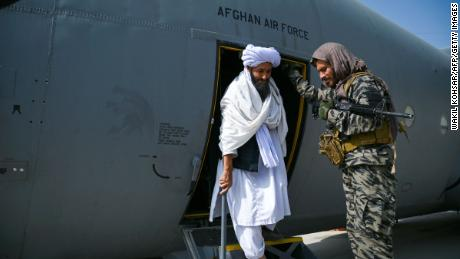 Taliban declare victory from Kabul airport tarmac after US withdrawal