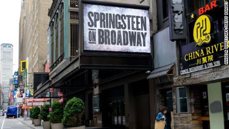 """Springsteen on Broadway"" reopened in June."
