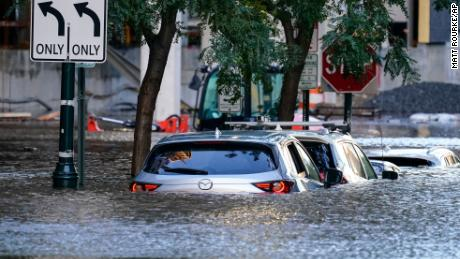 At least 46 people have died after floodwaters from Ida's remnants swamp cities from Virginia to New England