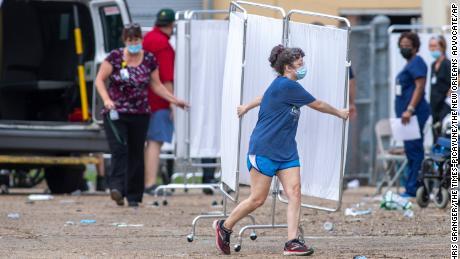 911 calls describe chaotic scene at warehouse where Ida nursing home evacuees died