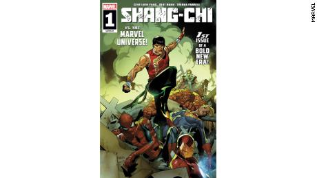 """Issue 1 of """"Shang-Chi,"""" published May 2021. Gene Luen Yang and Dike Ruan helmed this issue."""