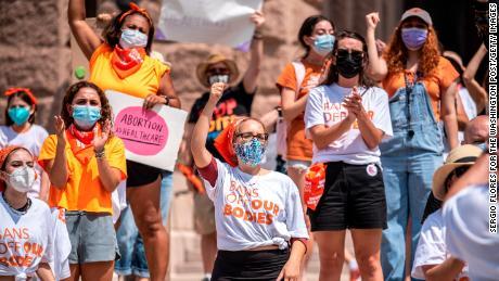 Teksasas '  abortų įstatymas yra vienas iš labiausiai ribojančių išsivysčiusiame pasaulyje