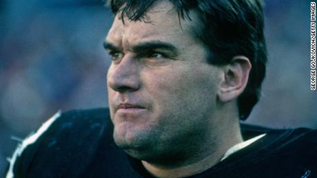 Ilkin looks on from the sideline during an NFL game at Three Rivers Stadium in 1989 in Pittsburgh, Pennsylvania.