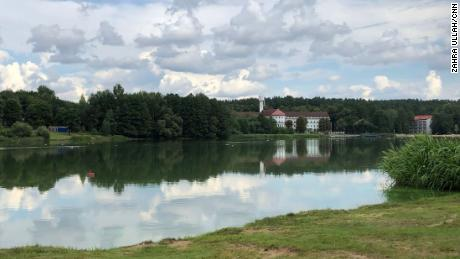 The lakeside Belorusochka resort is only a short drive from the heart of the Belarusian capital.