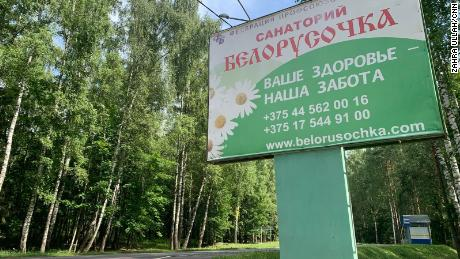 The Russian mercenaries traveled to the Belorusochka resort to wait out a delay, the sources told CNN.