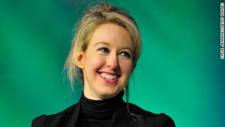 Elizabeth Holmes speaking onstage at TechCrunch Disrupt on September 8, 2014 in San Francisco, California.